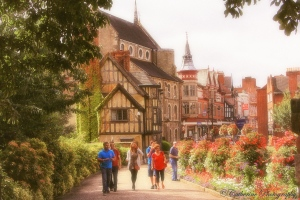 Shrewsbury - town in England