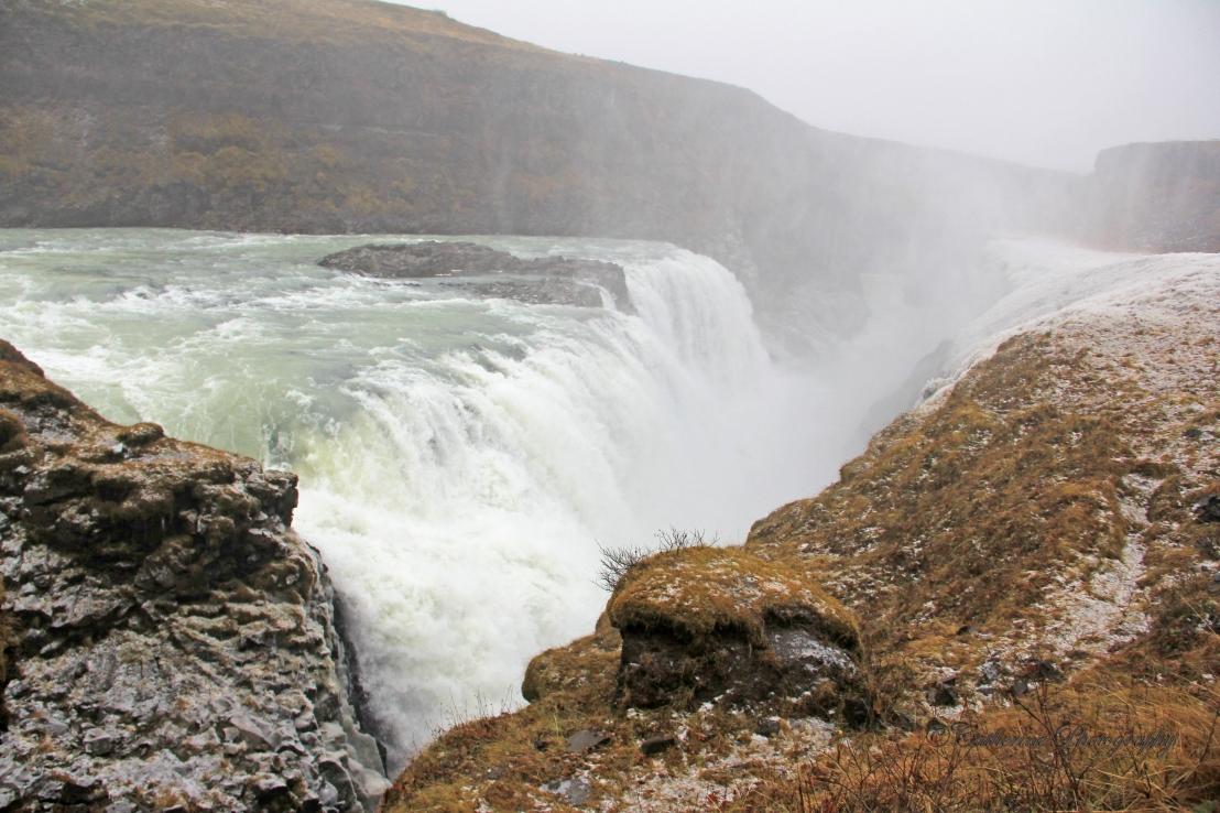 Strokkur and Gullfoss,Iceland