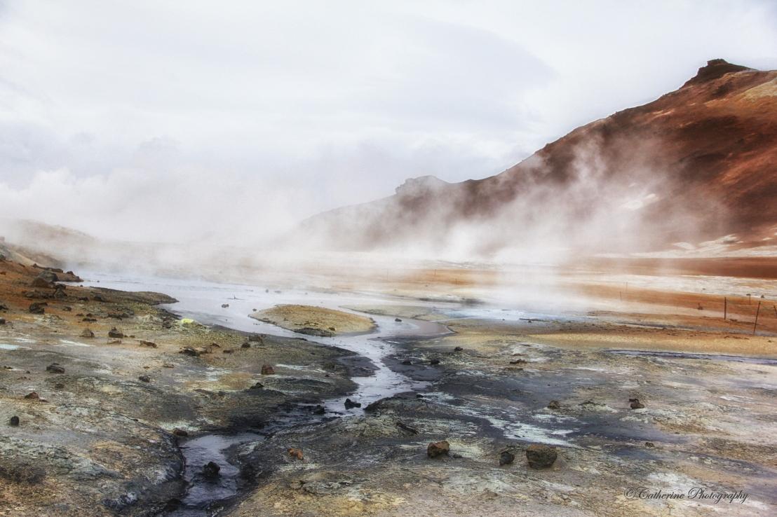 Viti Craters and Krafla,Iceland
