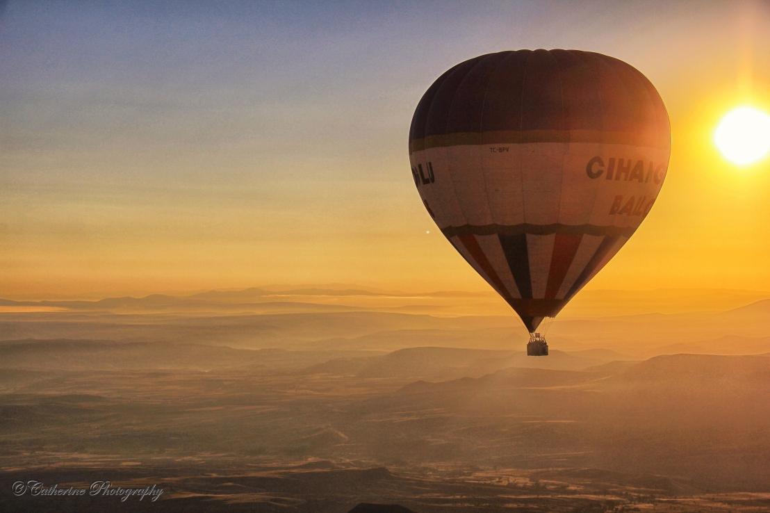 Hot Air Balloons atCappadocia