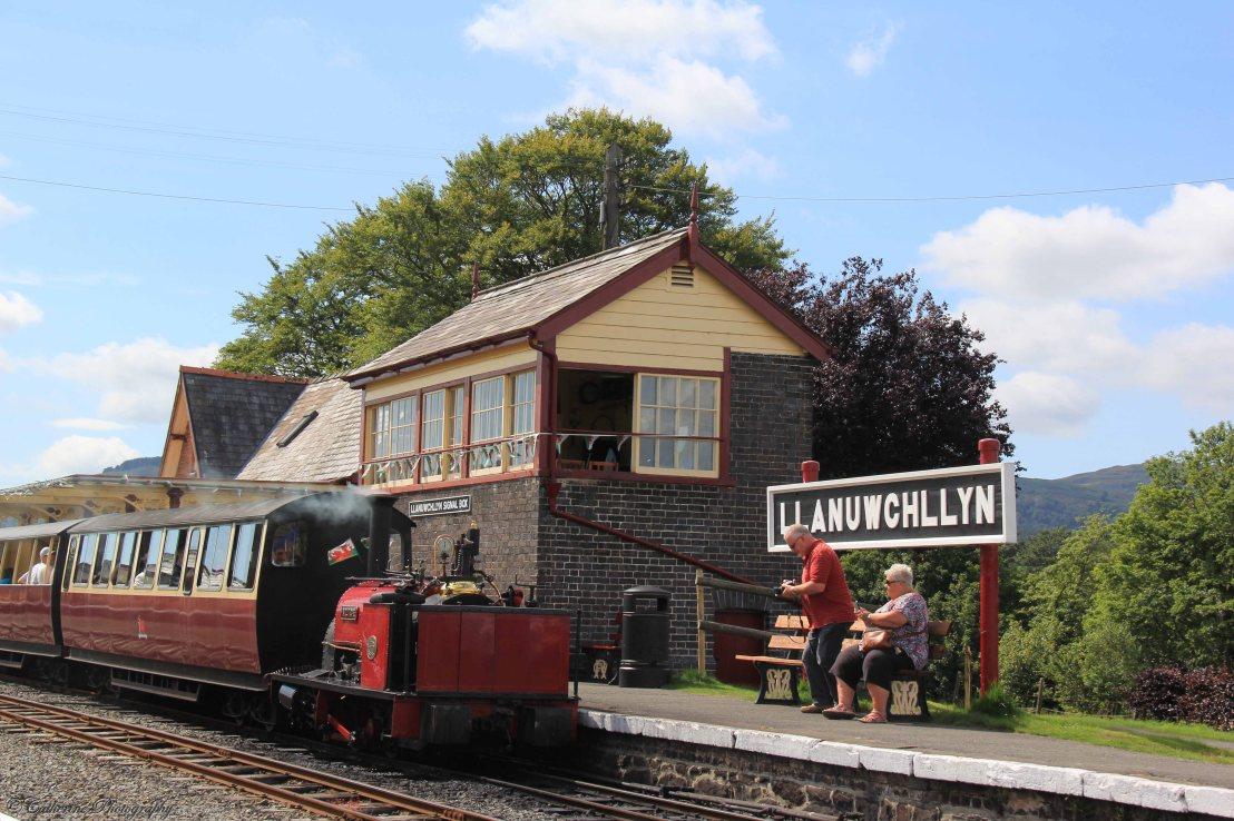 Llanuwchllyn Station, Bala